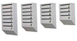 Многосекционный почтовый ящик