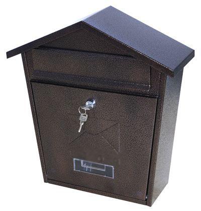 Индивидуальный почтовый ящик ВН-21 медный