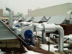 Очистка и промывка вентиляции и воздухоотводов в Москве и области