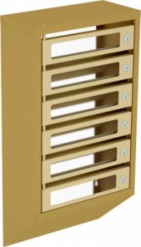 Многосекционные почтовые ящики